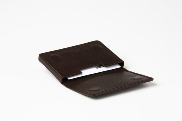 1707-leather business card holder