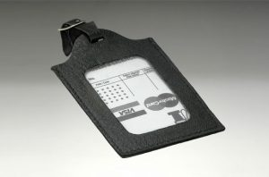 2025a- leather luggage tags