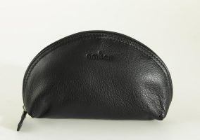 Halfmoon cosmetic bag