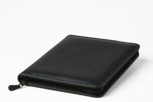 A5_zipleather folders