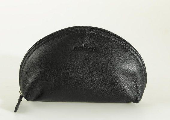 Halfmoon cosmetic bag